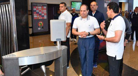 كأس الأم الأفريقية… السيسي يصل ستاد القاهرة لافتتاح «كان 2019»