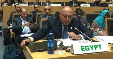 وزير الخارجية يتوجه إلى تونس للمشاركة فى الاجتماع الثلاثى حول ليبيا