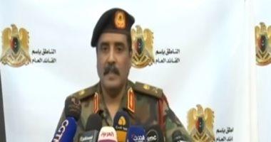 المسمارى: غارة جوية على مخازن أسلحة وذخائر الميلشيات بمدينة غريان