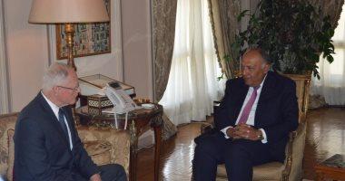 وزير الخارجية يستقبل الممثل الخاص للولايات المتحدة إلى سوريا