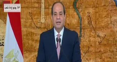 السيسى: ولاء المصريين ورفضهم محو هويتهم الوطنية حقائق لا تتغير بفعل الزمن