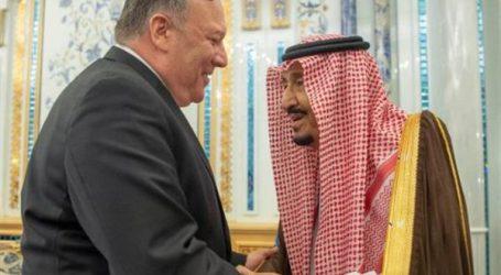 استقبال خادم الحرمين لـ وزير الخارجية الأمريكي.. صور