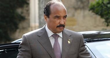 رئيس موريتانيا يصل القاهرة لحضور مباراة منتخب بلاده ببطولة أمم أفريقيا