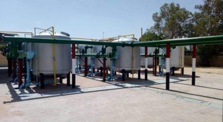 إحلال وتطوير محطات مياه الشرب والصرف الصحي بالوادي الجديد