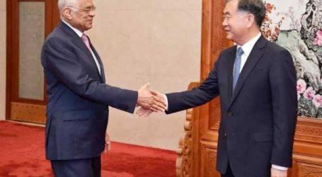 رئيس مجلس النواب يلتقي رئيس المجلس الوطني للمؤتمر الاستشاري الصيني