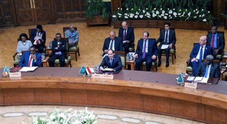 توافد قادة أفريقيا إلى قصر المؤتمرات في نيامى لحضور القمة الاستثنائية برئاسة السيسي