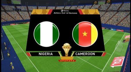 الكاميرون يتقدم بهدفين على نيجيريا في الشوط الأول