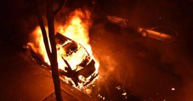 تفحم 3 جثث وإصابة 6 في حريق سيارة على طريق الإسكندرية الصحراوي