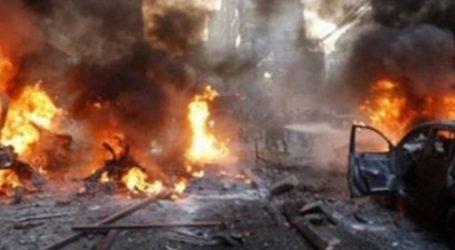 انفجار سيارة مفخخة بالقرب من مقر جيش الاحتلال في تل أبيب