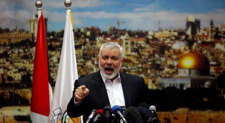 هنية: حماس خرجت من سوريا بنفسها وسنزور إيران قريبا