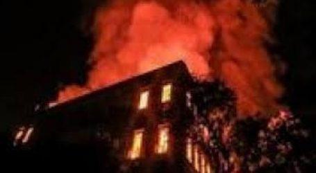 المعاينة الأولية: مواد خشبية وأثاث ساعدت في انتشار حريق كنيسة حدائق القبة