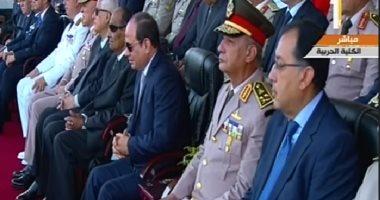 بث مباشر.. الرئيس السيسي يحضر تخرج دفعة جديدة من الكليات العسكرية