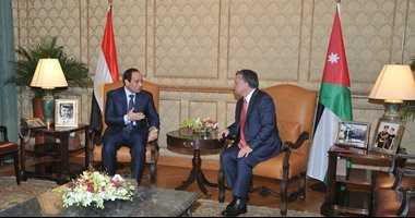 الرئيس السيسى استقبل العاهل الأردنى الملك عبد الله الثانى