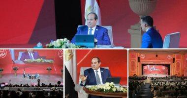 السيسى: تكليف رئاسة الوزراء بإطلاق المشروع القومى للتحول الرقمى