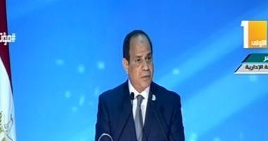 الرئيس السيسى: رهانى على المصريين كان رابحًا.. ولن نرضى بغير المجد بديلًا