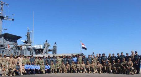 """انطلاق التدريب البحرى المصرى الأمريكى """"تحية النسر – استجابة النسر ٢٠١٩"""""""