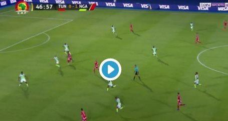 تونس تهدر هدف التعادل أمام نيجيريا (فيديو)