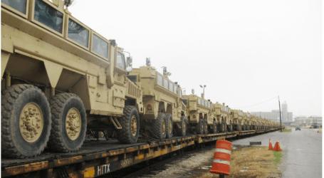 الولايات المتحدة تزود القوات المسلحة المصرية بـ 930 سيارة أمريكية من طراز MRAP