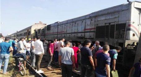 مصرع وإصابة 5 من أسرة واحدة دهسهم قطار في طنطا