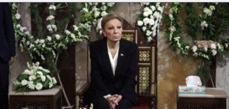 أرملة شاه إيران تشكر السيسي والمصريين وتحيى روح الراحل السادات