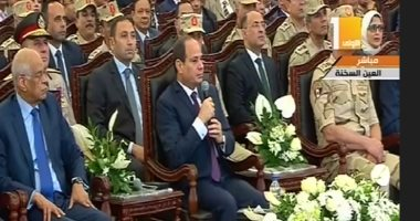 """السيسى: نحتاج موازنة تقدر بـ """"تريليون دولار"""" لدولة بحجم مصر"""