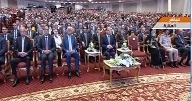 بث مباشر.. الرئيس السيسى يشهد احتفالية عيد العلم ويكرم عددا من العلماء