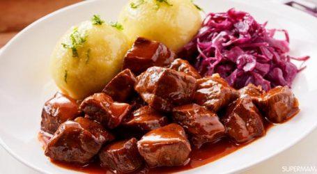 طريقة عمل اللحم بصوص الزبدة والثوم
