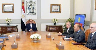 الرئيس السيسى يشهد توقيع مذكرة تفاهم بين القوات البحرية المصرية وشركة هاتشيسون