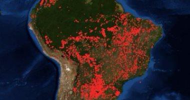 """""""ناسا"""" تكشف وجود حرائق فى أفريقيا تفوق الأمازون ولا أحد يعلم عنها شيئا"""