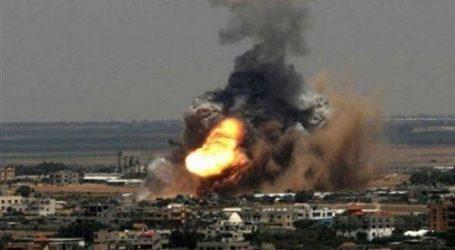 انفجارات بمخازن أسلحة الحشد الشعبي قرب قاعدة جوية بالعراق