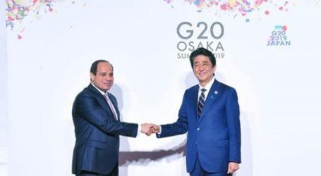 سفير اليابان بالقاهرة: السيسي وآبي يترأسان الجلسات الافتتاحية والختامية لمؤتمر تيكاد 7