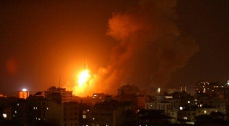 طائرات الاحتلال تقصف موقعًا لحماس في غزة