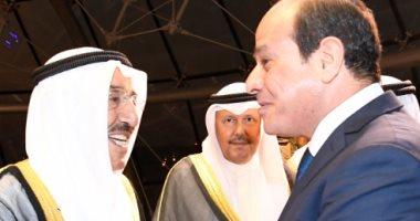 ترحيب كويتى شعبى كبير بزيارة الرئيس السيسى لبلدهم