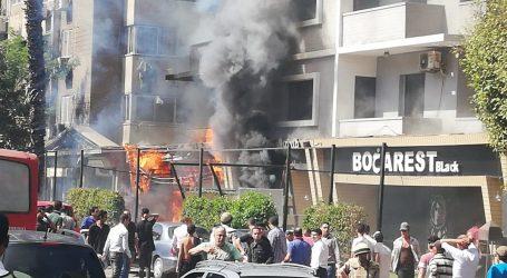 حريق فى فندق بالدقى والحماية المدنية تحاول السيطرة عليه