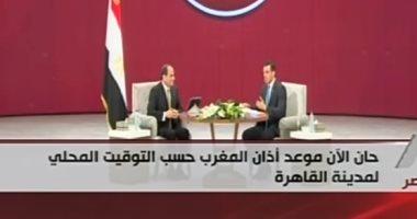 الرئيس السيسي: مررنا بمراحل مختلفة فى الـ6 سنوات الماضية أولها تثبيت الدولة