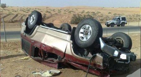 إصابة رئيس محكمة المنيا في انقلاب سيارة ببني سويف