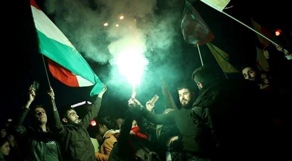أكراد يتظاهرون في كركوك