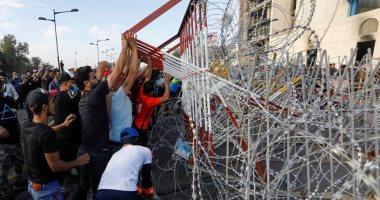 قتيلان وجرحى أثناء اشتباكات بين قوات الأمن العراقية والمحتجين فى بغداد