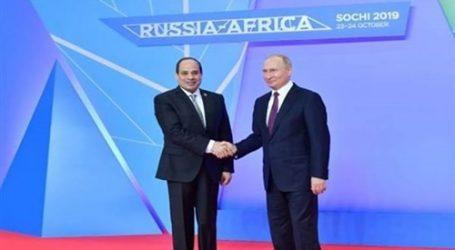"""تفاصيل الجلسة الافتتاحية لقمة """"روسيا – أفريقيا"""" برئاسة السيسي وبوتين"""