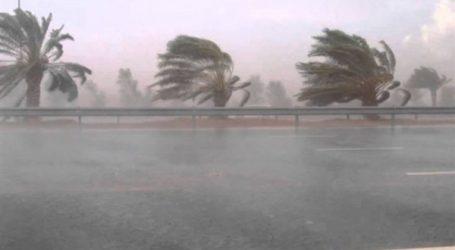 الأرصاد :  غدا أمطار غزيرة ورعدية بكافة أنحاء البلاد
