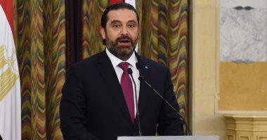 سعد الحريرى يعرب عن تقديره للرئيس السيسى ودور مصر الداعم للبنان