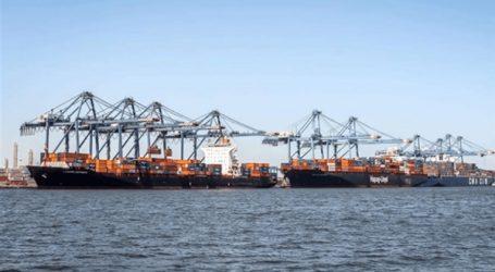 حريق محدود في ناقلة فوسفات بميناء دمياط
