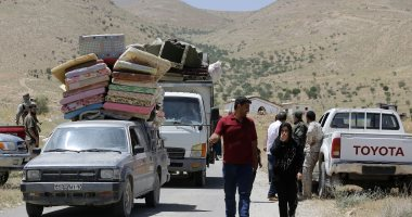 كردستان العراق تستقبل أكثر من ألف لاجئ هارب من العدوان التركى على شمال سوريا