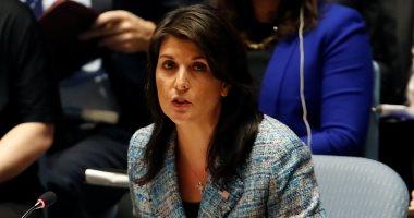 سفيرة أمريكا بالأمم المتحدة: ننظر فى فرض عقوبات إضافية على تركيا