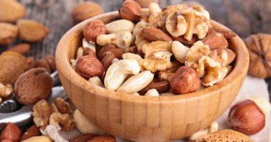 دراسة: تناول المكسرات قد يساهم فى الحد من زيادة الوزن
