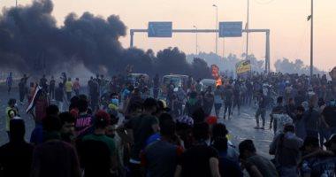 العربية: توقف التظاهرات فى النجف بعد اتفاق بين وفد حكومة العراق والمتظاهرين