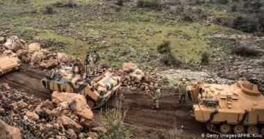 العربية: الفصائل الموالية لتركيا تقصف مواقع للقوات الكردية شمال حلب