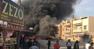 """""""سانا"""": قتلى وجرحى فى انفجار سيارة مفخخة فى مدينة القامشلى السورية"""