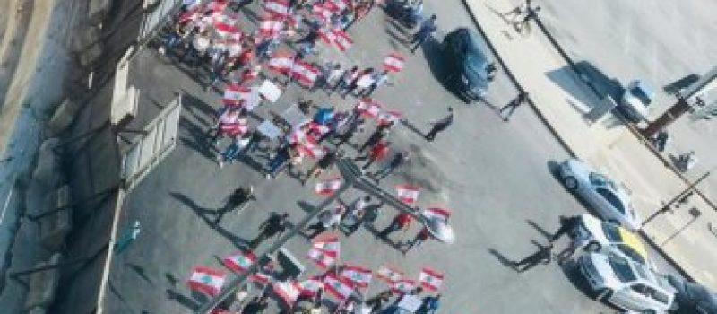 المتظاهرون اللبنانيون يقررون البقاء فى أماكن الاعتصام حتى تطبيق الإصلاحات
