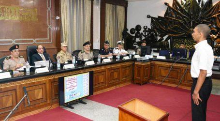 الرئيس السيسى: التطور الشامل للقوات المسلحة يتطلب انتقاء فرد مقاتل محترف